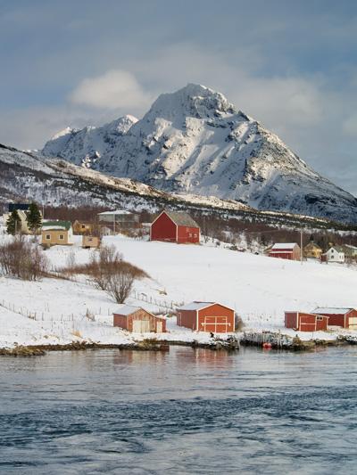 Picture of Norwegian village Olympus E-500