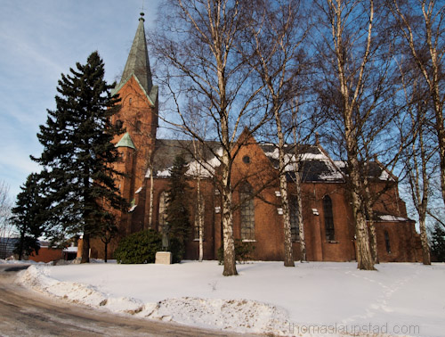 Picture of Vestre Aker kirke - Church in Oslo